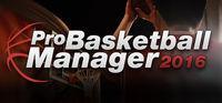 Portada oficial de Pro Basketball Manager 2016 para PC