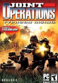 Portada oficial de Joint Operations: Typhoon Rising para PC