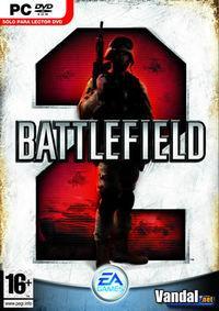 Portada oficial de Battlefield 2 para PC