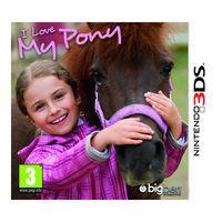 Portada oficial de I Love my Pony para Nintendo 3DS
