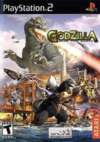 Portada oficial de Godzilla: Save the Earth para PS2