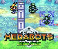 Portada oficial de Medabots: Metabee CV para Wii U