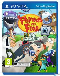 Portada oficial de Phineas y Ferb: El día de Doofenshmirtz para PSVITA