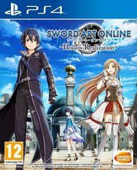 Portada oficial de Sword Art Online: Hollow Realization para PS4