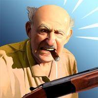 Portada oficial de Angry Grandpa Crime Fighter para Android