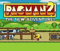 Portada oficial de Pac-Man 2: The New Adventures CV para Wii U