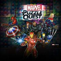 Portada oficial de Marvel Puzzle Quest: Dark Reign para PS4