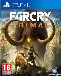 Portada oficial de Far Cry Primal para PS4