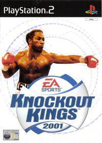 Portada oficial de Knockout Kings 2001 para PS2