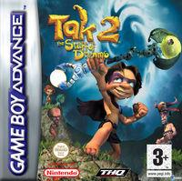 Portada oficial de Tak 2: The Staff of Dreams para Game Boy Advance