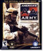 Portada oficial de de America's Army para PC