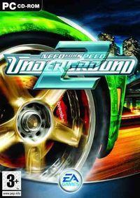 Portada oficial de Need for Speed Underground 2 para PC