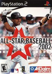 Portada oficial de All Star Baseball 2002 para PS2