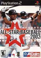 Portada oficial de de All Star Baseball 2002 para PS2