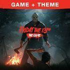 Portada oficial de de Friday the 13th: The Game para PS4