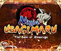 Portada oficial de Ninja Usagimaru - The Gem of Blessings eShop para Nintendo 3DS