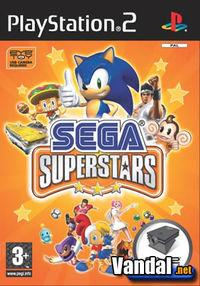 Portada oficial de SEGA SuperStars para PS2