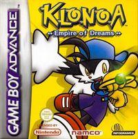 Portada oficial de Klonoa: Empire of Dreams para Game Boy Advance