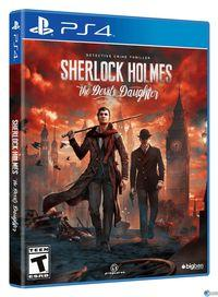 Portada oficial de Sherlock Holmes: The Devil's Daughter para PS4