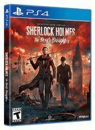 Portada oficial de de Sherlock Holmes: The Devil's Daughter para PS4