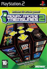 Portada oficial de Midway Arcade Treasures 2 para PS2