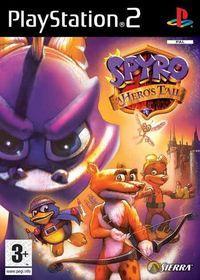 Portada oficial de Spyro: A Hero's Tail para PS2