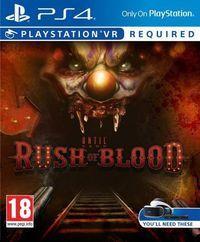 Portada oficial de Until Dawn: Rush of Blood para PS4