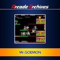 Portada oficial de Arcade Archives Mr.GOEMON para PS4