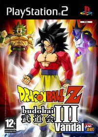 Portada oficial de Dragon Ball Z: Budokai 3 para PS2