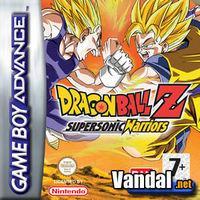 Portada oficial de Dragon Ball Z: Supersonic Warriors para Game Boy Advance