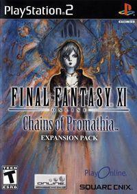 Portada oficial de Final Fantasy XI: Chains of Promathia para PS2