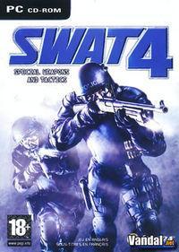 Portada oficial de SWAT 4 para PC