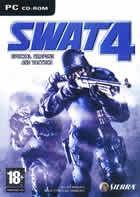 Portada oficial de de SWAT 4 para PC