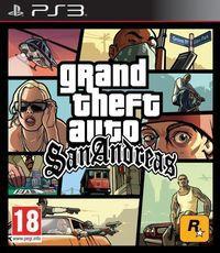 Portada oficial de Grand Theft Auto: San Andreas para PS3