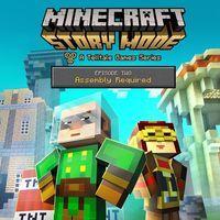 Portada oficial de Minecraft: Story Mode - Episode 2: Assembly Required  para Wii U