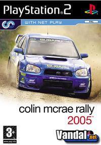 Portada oficial de Colin McRae Rally 2005 para PS2