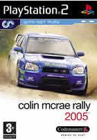 Portada oficial de de Colin McRae Rally 2005 para PS2