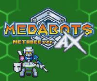 Portada oficial de Medabots AX Metabee Version CV para Wii U