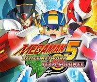 Portada oficial de Megaman Battle Network 5 Team: Colonel CV para Wii U