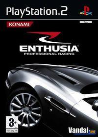 Portada oficial de Enthusia para PS2