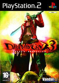 Portada oficial de Devil May Cry 3: Dante's Awakening para PS2