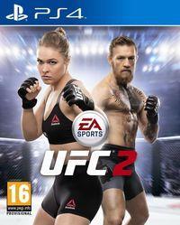 Portada oficial de EA Sports UFC 2 para PS4