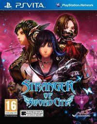 Portada oficial de Stranger of Sword City para PSVITA