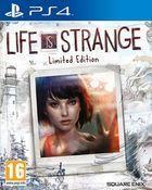 Portada oficial de de Life is Strange: Limited Edition para PS4
