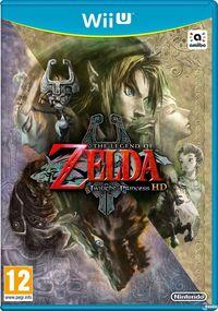 Portada oficial de The Legend of Zelda: Twilight Princess HD para Wii U
