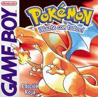 Portada oficial de Pokémon Rojo/Azul/Amarillo CV para Nintendo 3DS