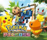 Portada oficial de Pokémon Picross eShop para Nintendo 3DS