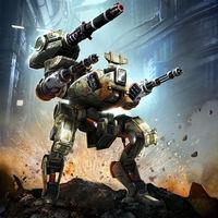 Portada oficial de Walking War Robots para Android