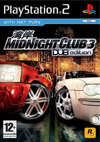 Portada oficial de Midnight Club 3 : DUB Edition para PS2
