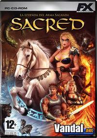 Portada oficial de Sacred para PC